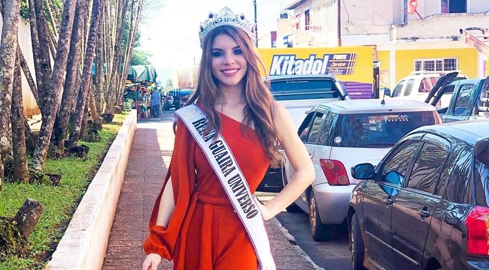 Miss Guairá denuncia violencia intrafamiliar