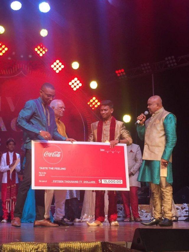 The 2018 Ncic:coca Cola Youth Champ, Abhijit Anchortassoo