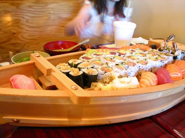 Sushi + Target = Happy Me