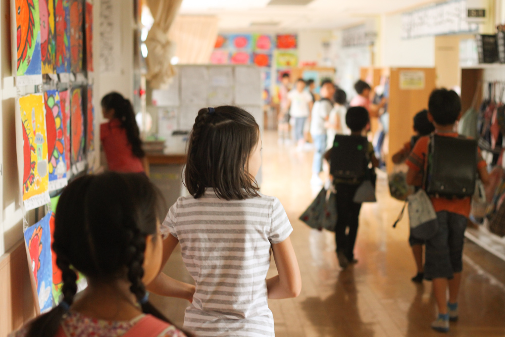 Immersion in Japan ☆ My Daughter's First Experience at Japanese Elementary School