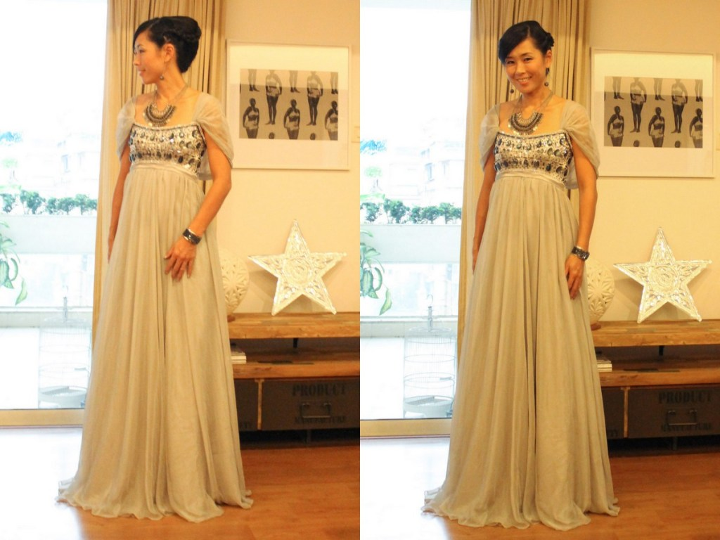 Monday Mode ☆ Silver Ball Gown