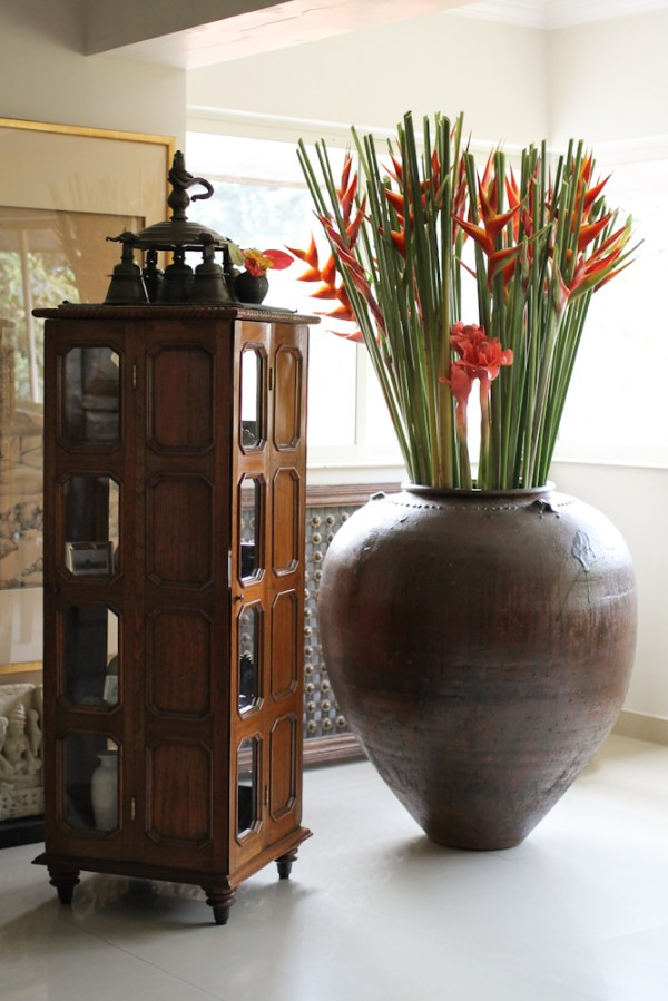 Home with Indian Antiques-24