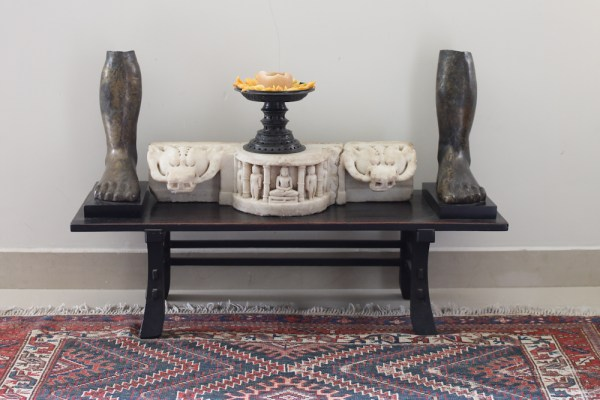 Home with Indian Antiques-25