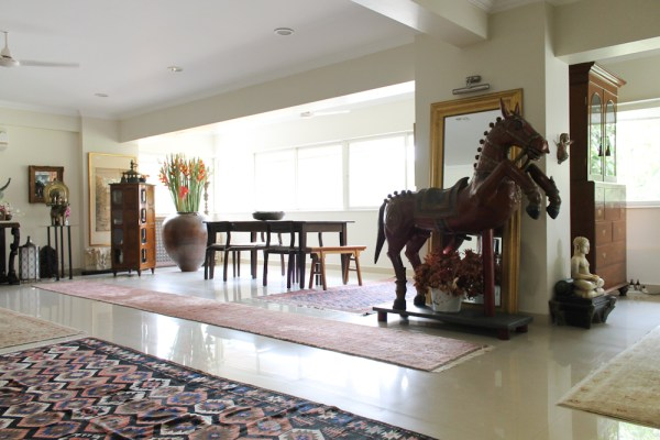 Home with Indian Antiques-4