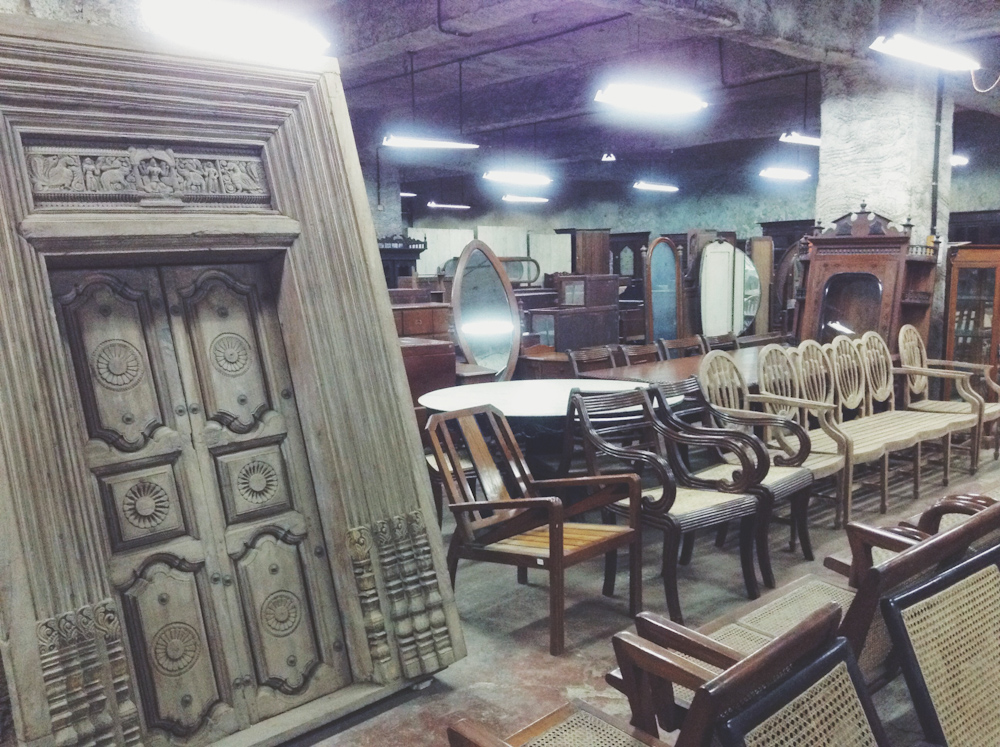Friday Finds ☆ The Raj Company ☆ Antique Furniture Shop in Mahalaxmi Mumbai