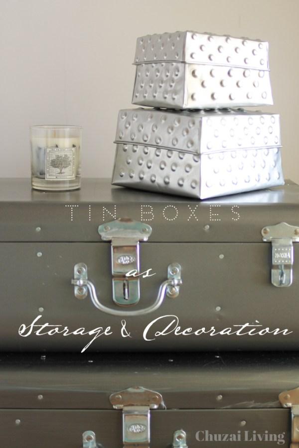 Tin Boxes Storage Cayenne Jakarta