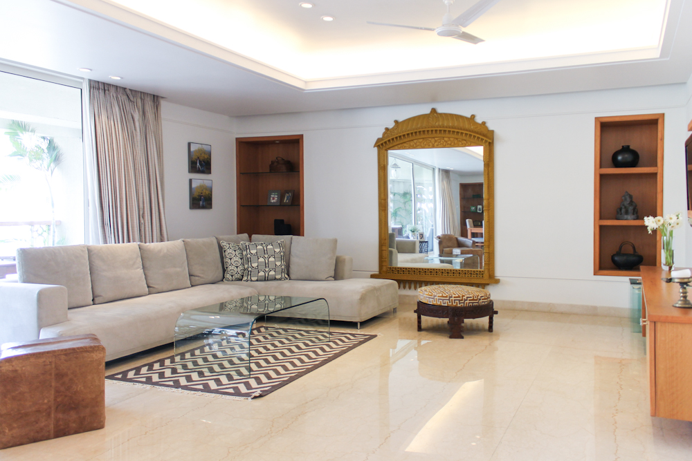 Contemporary Minimalist Home With Indian Design   Chuzai ...