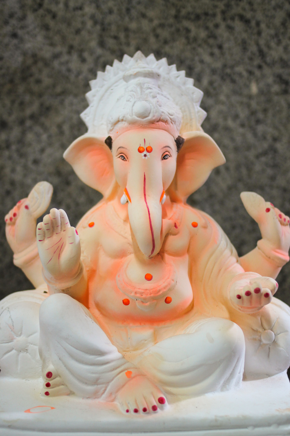 Eco-Friendly Ganesha Making-31