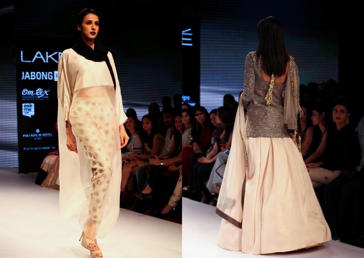 Nikhil Thampi Payal Singhal Lakme Fashion Week