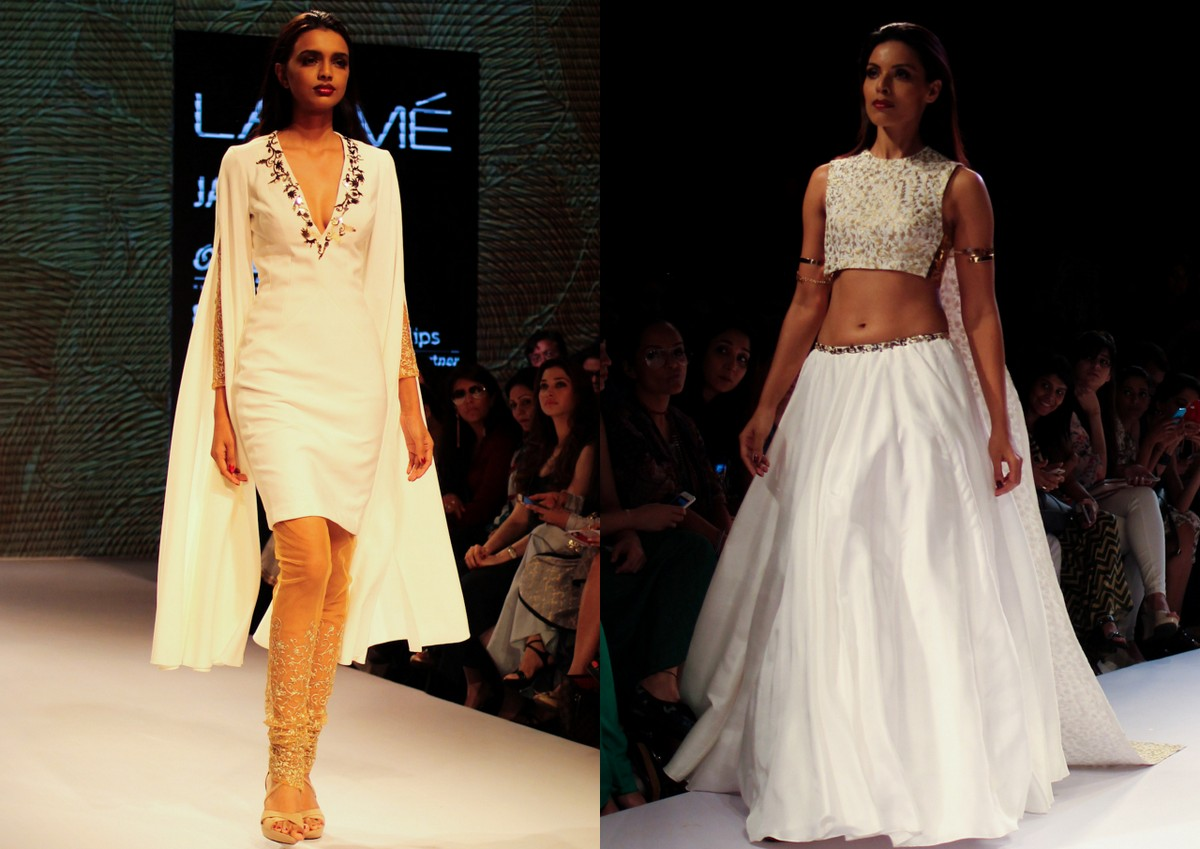 Nikhil Thampi Payal Singhal Lakme Fashion Week2
