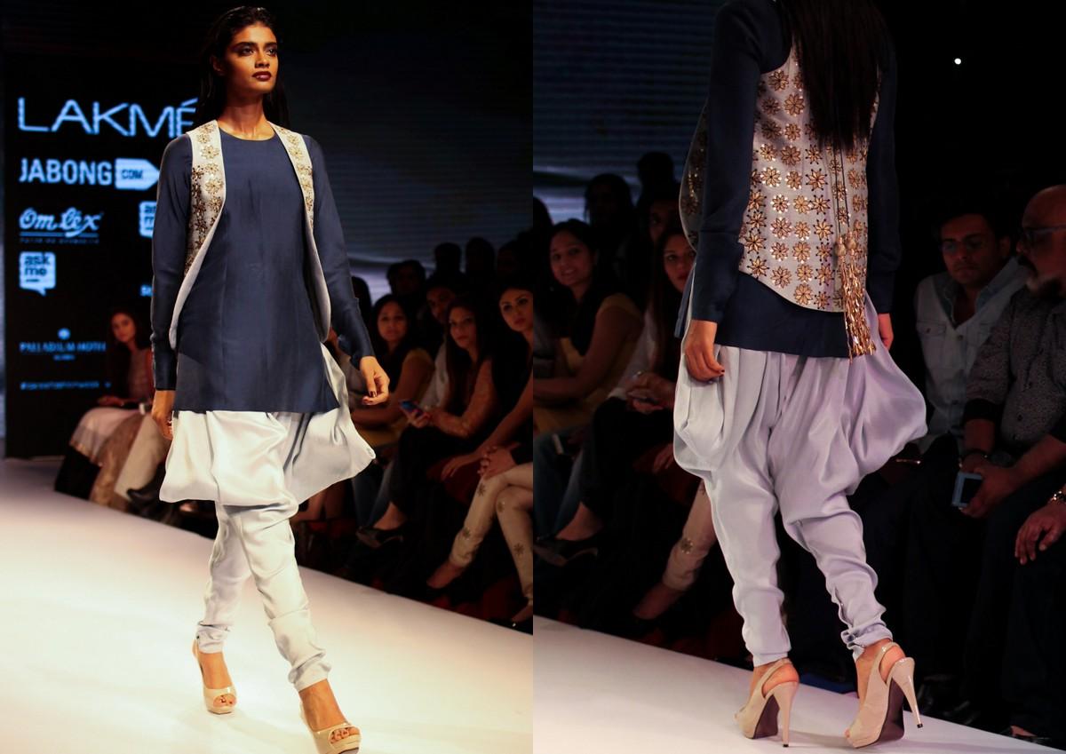 Nikhil Thampi Payal Singhal Lakme Fashion Week7