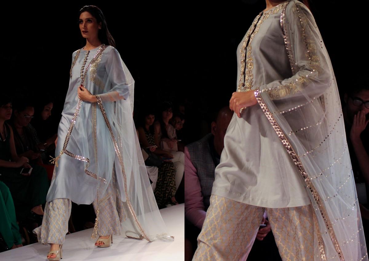 Nikhil Thampi Payal Singhal Lakme Fashion Week8