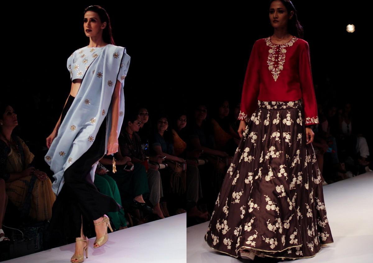 Nikhil Thampi Payal Singhal Lakme Fashion Week9