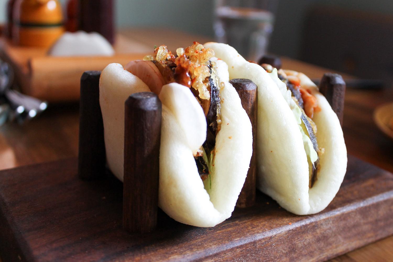 Eggplant Bao