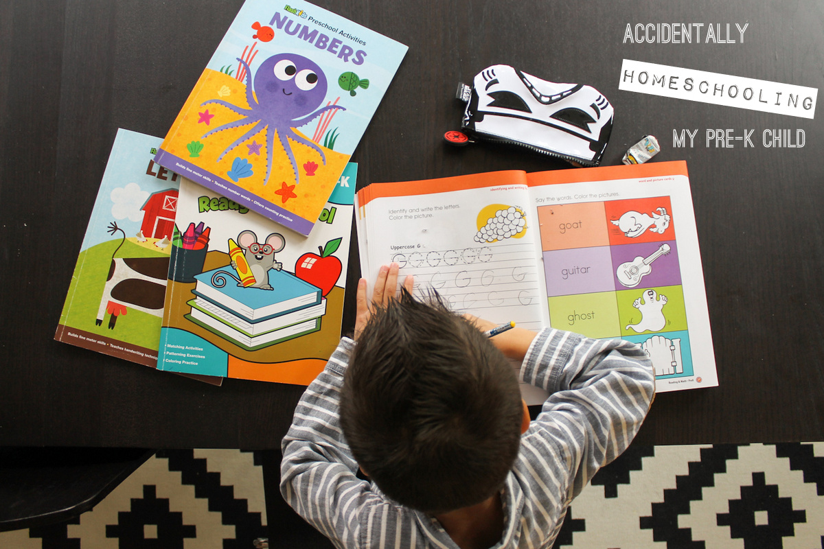 Accidentally Homeschooling My Pre-K Child