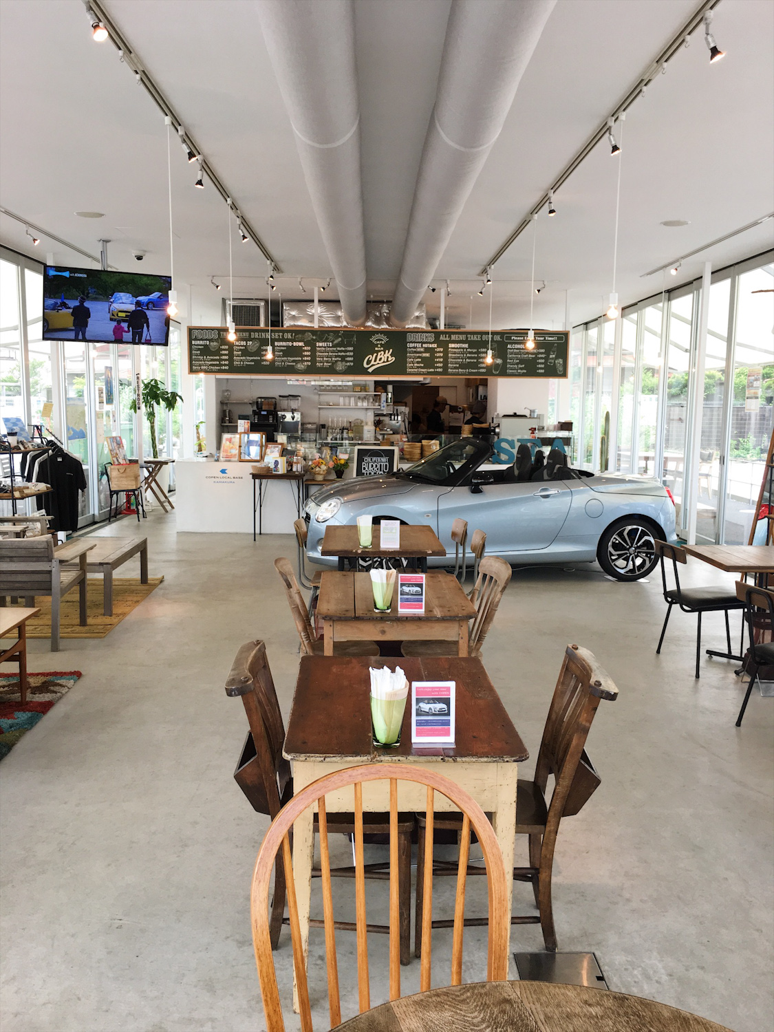 Copen Local Base Kamakura Lifestyle Cafe