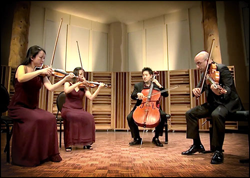 The Banff Centre: The Beethoven Recordings by The Afiara String Quartet Video