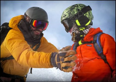 TELUS Optic Local: Backcountry Splitboarding Video
