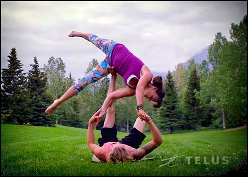 TELUS Optik Local: Full Contact Yoga Video