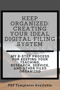 Keep Organized: Creating Your Ideal Digital Filing System