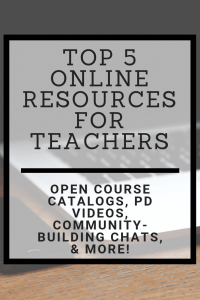Top 5 Online Resources for Teachers