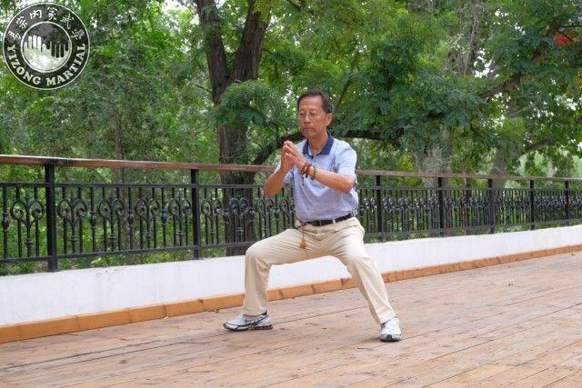 郭樹璞先生表演武當拳