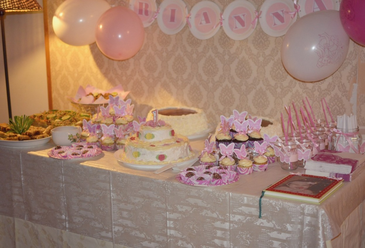 Pink Butterfly First Birthday Party - Aka Chymecindy