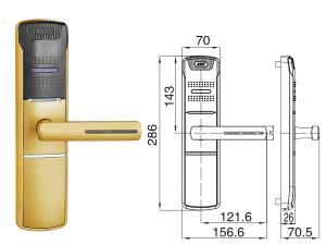 CHZ-HU 918 4 Elektronické čipové zámky