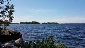 View of Rainy Lake