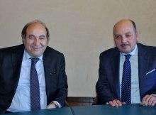 Dino Scanavino (a destra) e Carlo Siciliani