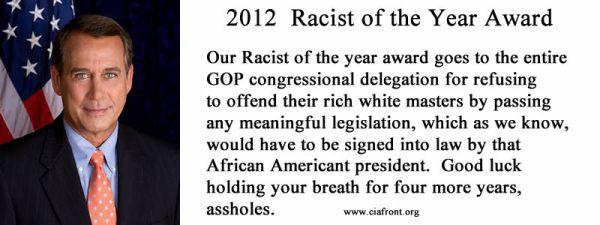 racistoftheyear