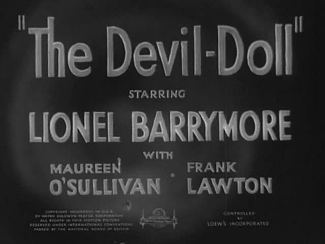 La Bambola Del Diavolo The Devil Doll 1936 CIAKHOLLYWOOD