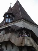 Torre-casa abbitata dal XIII sec fin'oggi a Sighisoara