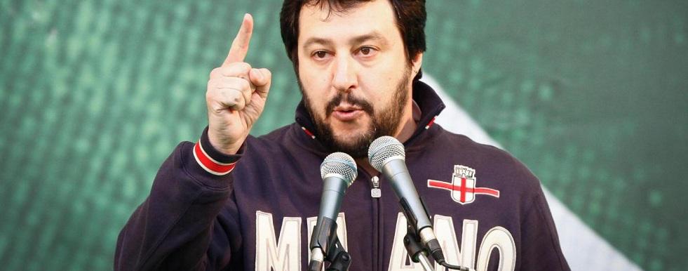 Salvini ringrazia i cauloniesi illuminati che hanno votato Lega