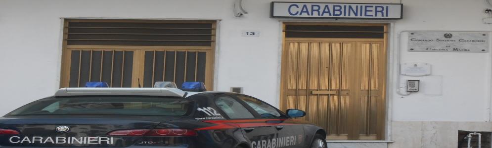 Un arresto a Caulonia marina