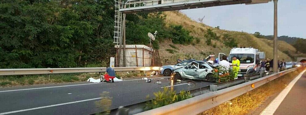 Incidente mortale sulla Salerno-Reggio Calabria