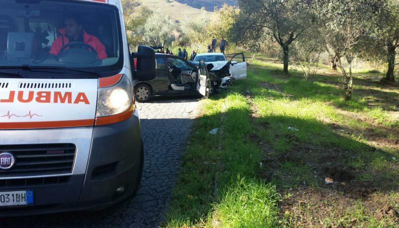 Incidente stradale a Soriano (VV): morto un giovane di 29 anni