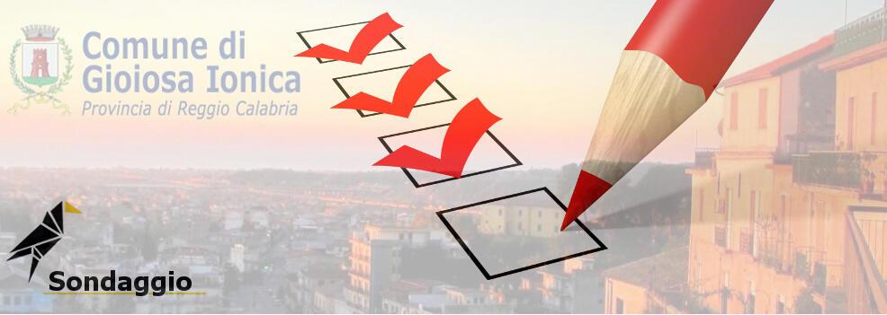 Sondaggio: quali sono le priorità programmatiche per Gioiosa Ionica?