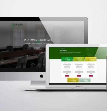 Criação de site institucional