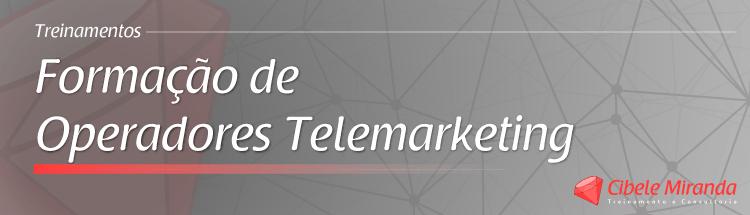 Formação de Operadores Telemarketing