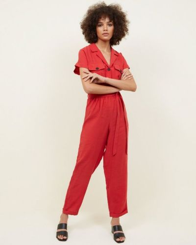 red-button-pocket-front-jumpsuit