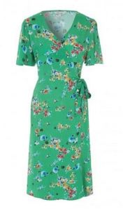 Peacocks floral dress