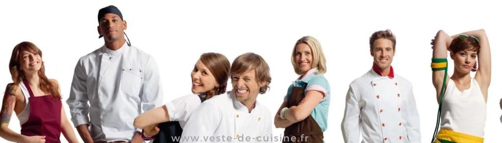 cas client Veste de cuisine