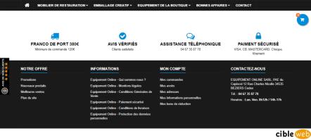 Règlementation et Information Equipement Online