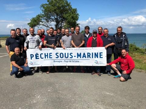 IEC et MEF1 Pêche sous marine - Promotion 2019