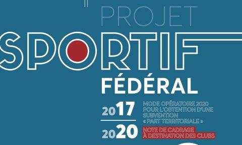 Campagne pour les subventions Part territoriale 2020