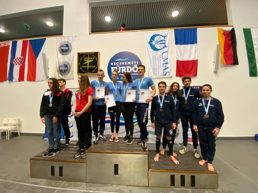 2 médailles pour Isya Briard