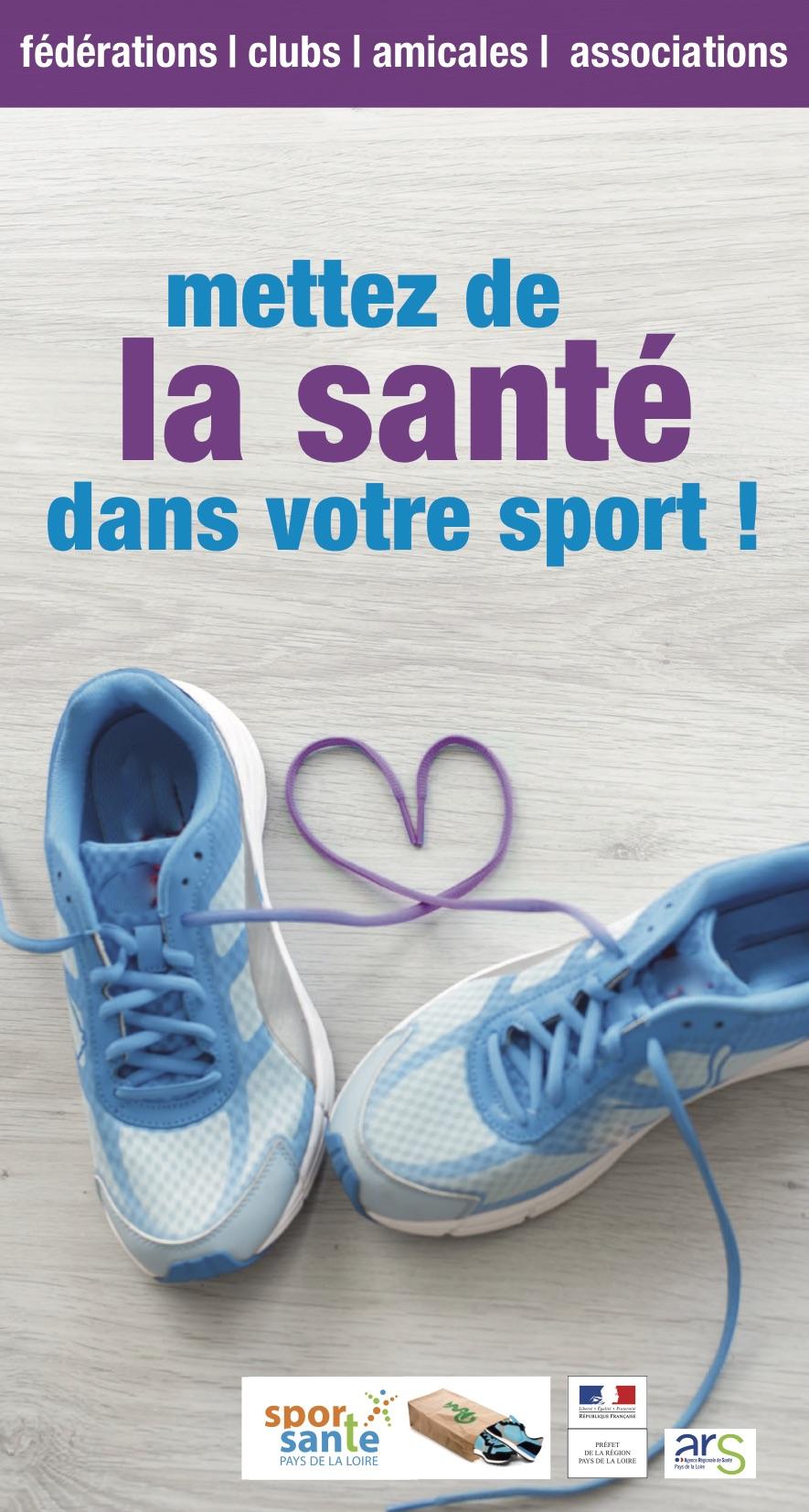 Mettez de la santé dans votre sport
