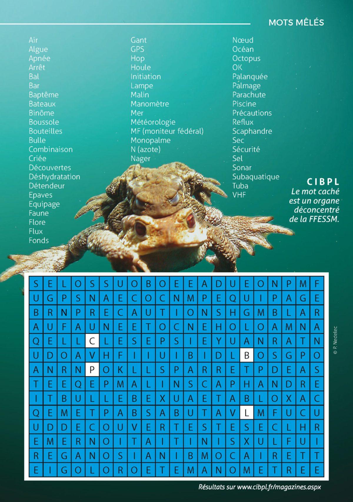 Magazine A l'eau 2 : les résultats des jeux
