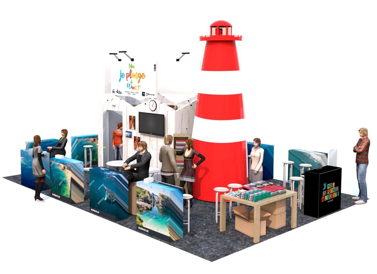 Le CIBPL au Salon de la Plongée et au Boot de Dusseldorf